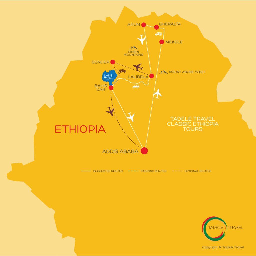 Explore Ancient Ethiopia | Ethiopian Historic Route | Tadele Travel